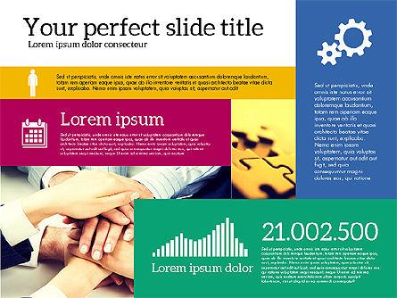 Presentation Templates: Modèle de présentation de l'entreprise #02173