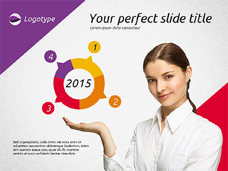 Elegant Presentation Template, Slide 10, 02174, Presentation Templates — PoweredTemplate.com