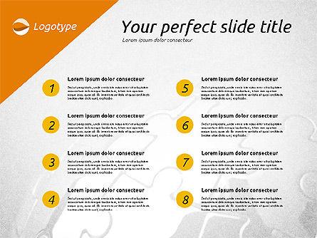 Elegant Presentation Template, Slide 2, 02174, Presentation Templates — PoweredTemplate.com