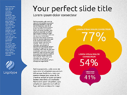 Company Results Presentation Template, Slide 4, 02177, Presentation Templates — PoweredTemplate.com