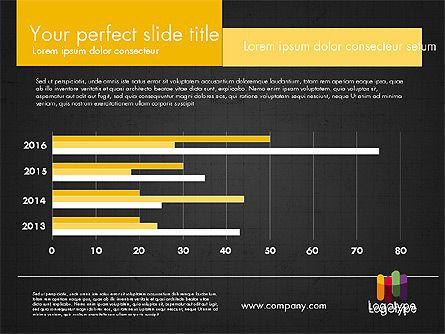 Dark and Yellow Presentation Template, Slide 19, 02178, Presentation Templates — PoweredTemplate.com