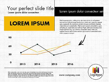 Dark and Yellow Presentation Template, Slide 4, 02178, Presentation Templates — PoweredTemplate.com