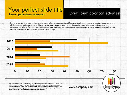 Dark and Yellow Presentation Template, Slide 9, 02178, Presentation Templates — PoweredTemplate.com