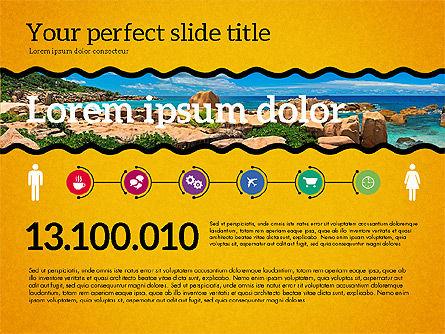 Travel Agency Presentation Template, Slide 12, 02179, Presentation Templates — PoweredTemplate.com