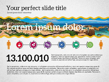 Travel Agency Presentation Template, Slide 2, 02179, Presentation Templates — PoweredTemplate.com