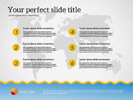 Travel Agency Presentation Template, Slide 6, 02179, Presentation Templates — PoweredTemplate.com