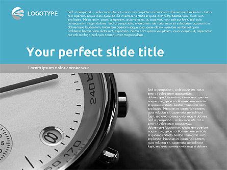 Time Management Presentation Template, Slide 13, 02180, Presentation Templates — PoweredTemplate.com