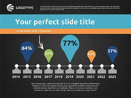Time Management Presentation Template, Slide 14, 02180, Presentation Templates — PoweredTemplate.com