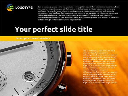 Time Management Presentation Template, Slide 3, 02180, Presentation Templates — PoweredTemplate.com