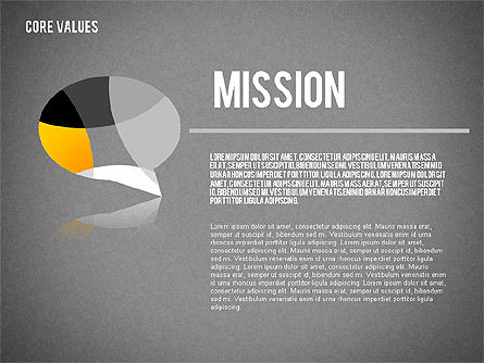 Core Values Presentation Concept, Slide 11, 02183, Business Models — PoweredTemplate.com