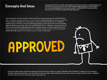 Concepts and Ideas with Characters, Slide 16, 02186, Shapes — PoweredTemplate.com