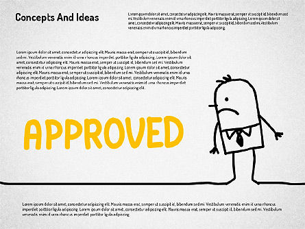 Concepts and Ideas with Characters, Slide 8, 02186, Shapes — PoweredTemplate.com