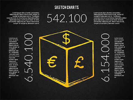 Financial Sketch Style Charts, Slide 16, 02188, Business Models — PoweredTemplate.com