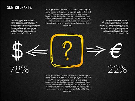 Financial Sketch Style Charts, Slide 9, 02188, Business Models — PoweredTemplate.com
