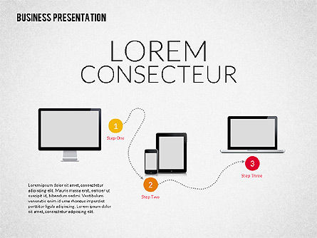 Business Presentation Template, Slide 2, 02190, Presentation Templates — PoweredTemplate.com