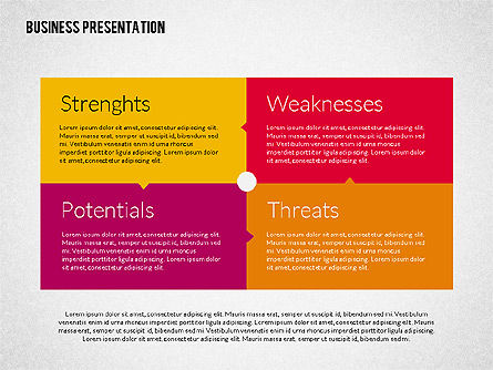 Business Presentation Template, Slide 3, 02190, Presentation Templates — PoweredTemplate.com