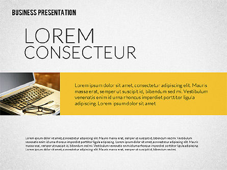 Business Presentation Template, Slide 8, 02190, Presentation Templates — PoweredTemplate.com