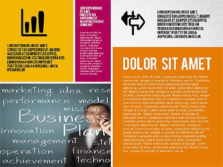 Modern Agency Presentation Template, Slide 2, 02194, Presentation Templates — PoweredTemplate.com