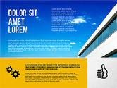 Presentation Templates: Modèle de présentation d'agence moderne #02194