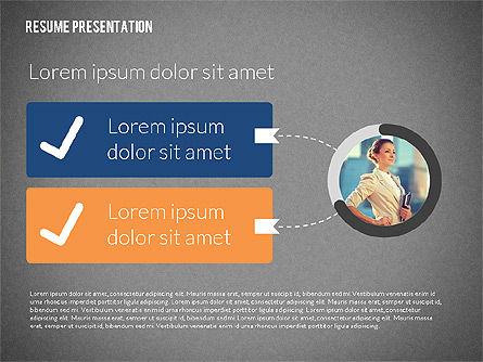 Art Director Resume Template, Slide 14, 02198, Presentation Templates — PoweredTemplate.com