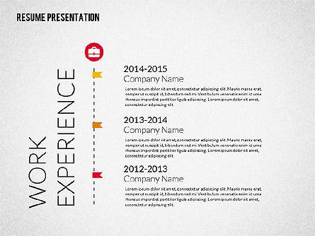 Art Director Resume Template, Slide 5, 02198, Presentation Templates — PoweredTemplate.com