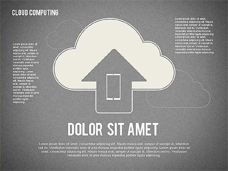 Cloud Computing, Slide 11, 02199, Business Models — PoweredTemplate.com
