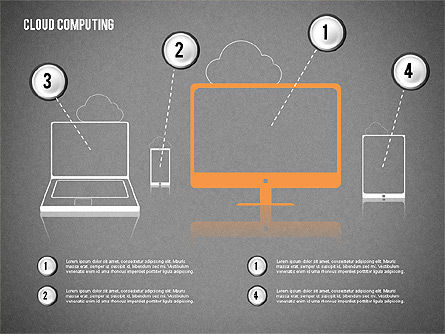 Cloud Computing, Slide 12, 02199, Business Models — PoweredTemplate.com