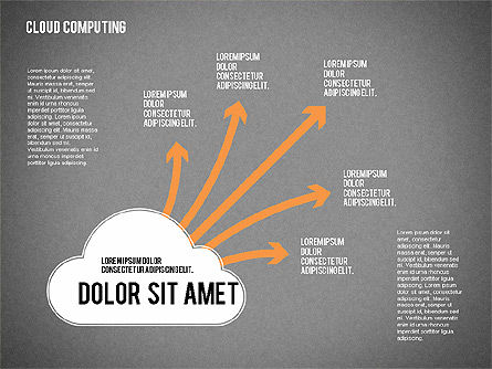 Cloud Computing, Slide 13, 02199, Business Models — PoweredTemplate.com