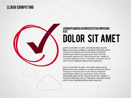 Cloud Computing, Slide 8, 02199, Business Models — PoweredTemplate.com
