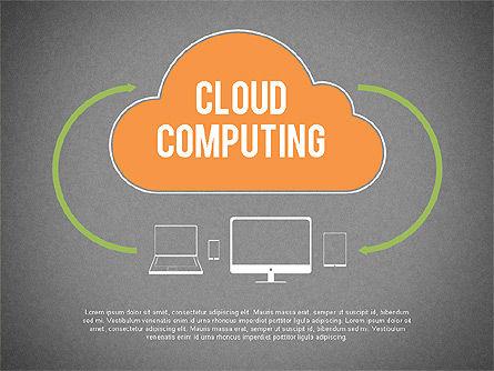 Cloud Computing, Slide 9, 02199, Business Models — PoweredTemplate.com