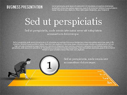 Business Competition Concept, Slide 10, 02200, Presentation Templates — PoweredTemplate.com