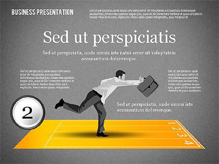 Business Competition Concept, Slide 11, 02200, Presentation Templates — PoweredTemplate.com