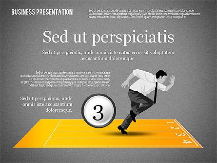 Business Competition Concept, Slide 12, 02200, Presentation Templates — PoweredTemplate.com