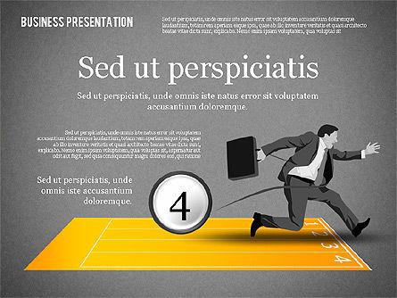 Business Competition Concept, Slide 13, 02200, Presentation Templates — PoweredTemplate.com