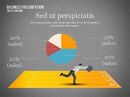 Business Competition Concept, Slide 14, 02200, Presentation Templates — PoweredTemplate.com