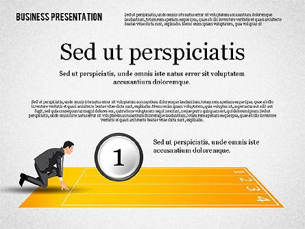 Business Competition Concept, Slide 2, 02200, Presentation Templates — PoweredTemplate.com
