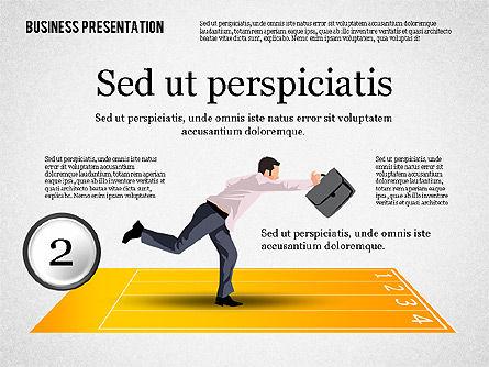 Business Competition Concept, Slide 3, 02200, Presentation Templates — PoweredTemplate.com