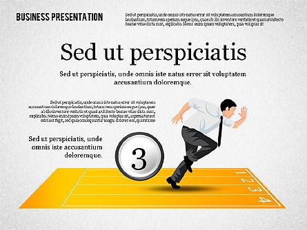 Business Competition Concept, Slide 4, 02200, Presentation Templates — PoweredTemplate.com
