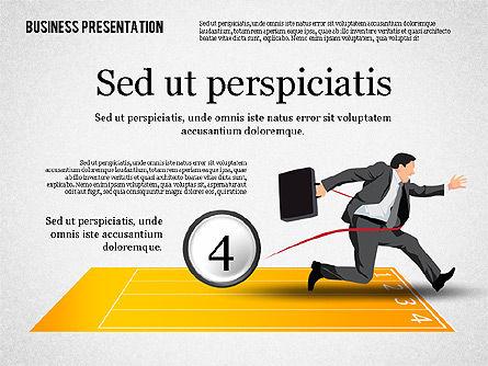 Business Competition Concept, Slide 5, 02200, Presentation Templates — PoweredTemplate.com