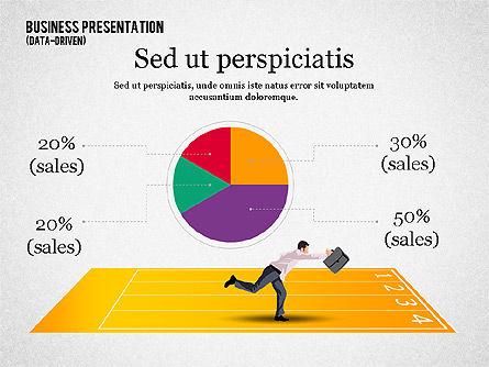 Business Competition Concept, Slide 6, 02200, Presentation Templates — PoweredTemplate.com