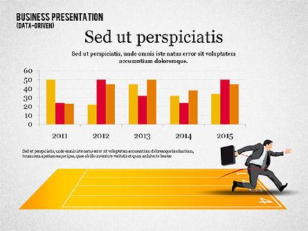 Business Competition Concept, Slide 8, 02200, Presentation Templates — PoweredTemplate.com