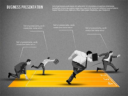 Business Competition Concept, Slide 9, 02200, Presentation Templates — PoweredTemplate.com