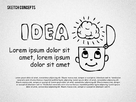 Presentation Templates: 아이디어에서 돈 프리젠 테이션 템플릿 #02201