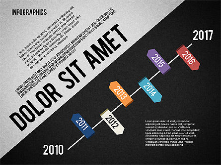 Presentation Template with Infographics, Slide 15, 02202, Presentation Templates — PoweredTemplate.com