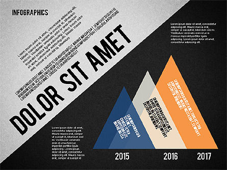 Presentation Template with Infographics, Slide 16, 02202, Presentation Templates — PoweredTemplate.com