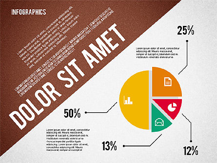 Presentation Template with Infographics, Slide 3, 02202, Presentation Templates — PoweredTemplate.com
