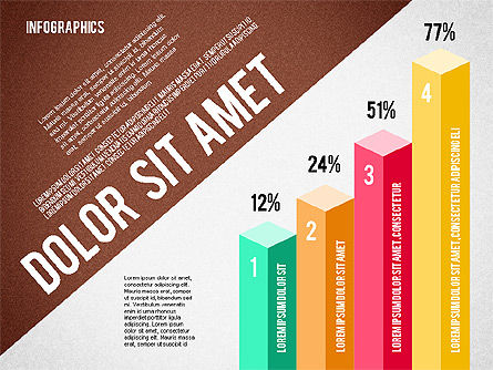 Presentation Template with Infographics, Slide 5, 02202, Presentation Templates — PoweredTemplate.com