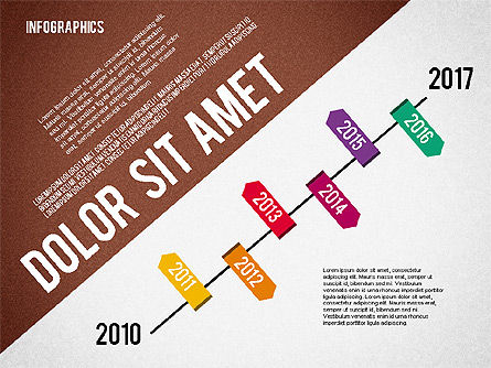 Presentation Template with Infographics, Slide 7, 02202, Presentation Templates — PoweredTemplate.com