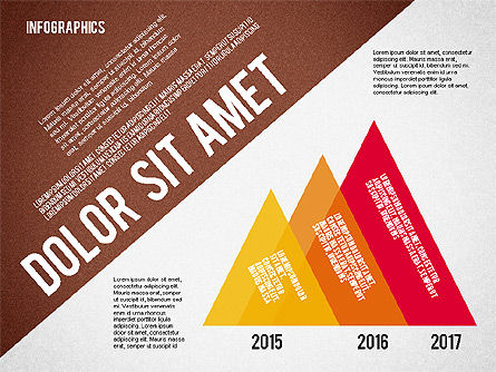 Presentation Template with Infographics, Slide 8, 02202, Presentation Templates — PoweredTemplate.com