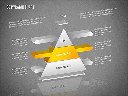 Layered 3D Pyramid, Slide 11, 02203, Business Models — PoweredTemplate.com